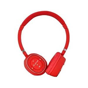 LUXA2 LHA0049 Red BT-X3 Bluetooth Stereo Headphone