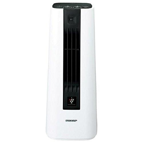 シャープ セラミックファンヒーター プラズマクラスター搭載 人感センサー付 ホワイト HX-FS1-W -