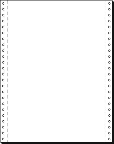 Papier quadrillé 12x240mm A4 80g/mÄ  avec perforation VE=2000 feuilles Sigel 12240