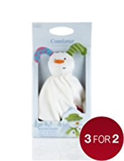 The Snowman™ & The Snowdog Comforter Toy