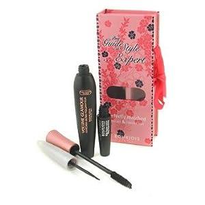 Bourjois Petit Guide De Style Expert Perfectly Matched Mascara & Liquid Liner - # 1 La Nuit Noire - Bourjois - MakeUp Set - Bourjois Petit Guide De Style Expert - 2pcs