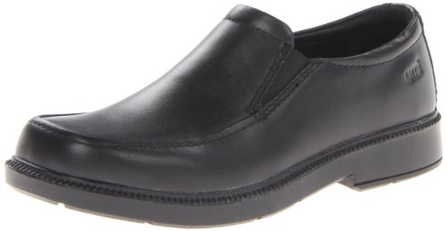 umi Dersent III Uniform Slip-On (Toddler/Little Kid/Big Kid),Black,37 EU(5 M US Big Kid)