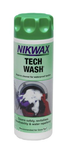 Nikwax Tech Wash Fabric Care 300ml (10 fl oz)