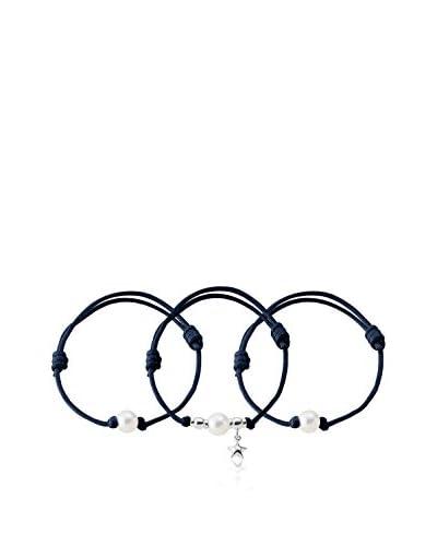 Pacific Life Set braccialetti 22 cm Blu Notte