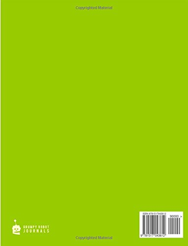 Notebook for Cornell Notes, 120 Numbered Pages, #SIMPLE, Lime Cover: For Taking Cornell Notes, Personal Index, 8.5