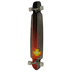 "Gravity 55"" ED ECONOMY Complete Longboard Skateboard"