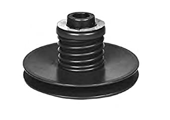 "Lovejoy 5010 Econoline Spring Pulley, 1"" Bore, 1/4 x 1/8"" Keyway, 36 inch-pounds Torque Capacity, 5"" OD, 3.5"" Overall Length"