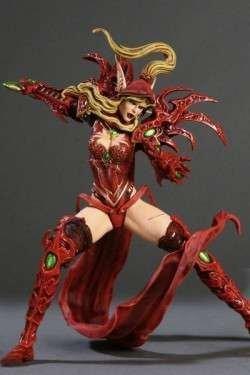 World of Warcraft Series 1 Valeera Sanguinar Blood Elf Rogue Action Figure by World of Warcraft