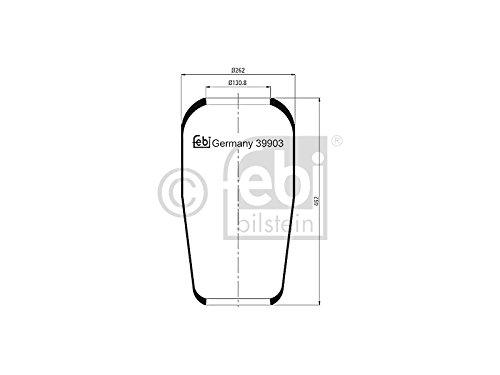 Febi 39903 Air Bellows