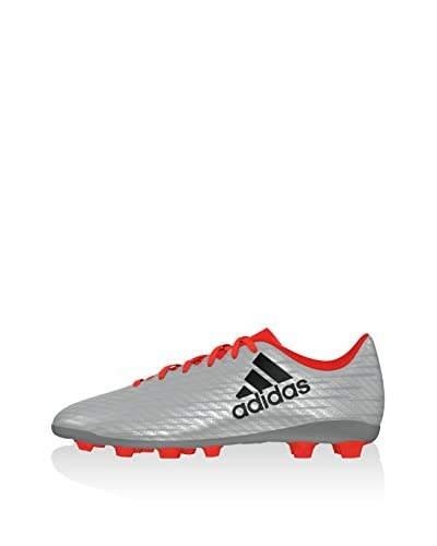 adidas Fußballschuh X 16.4 FXG J silber
