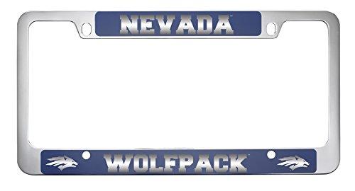 University of Nevada metal license plate frame