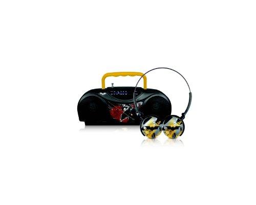 Marvel Batman Radio And Headphones 45383