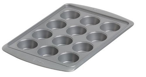 Wilton Avanti Everglide Metal-Safe Non-Stick 12 Cup Muffin Pan- Discontinued By Manufacturer (Best Nonstick Muffin Pan compare prices)