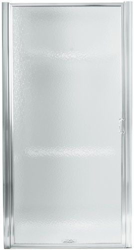 Sterling 950C-24S Standard Pivot Shower Door, Silver with Rain Glass Texture (Sterling Shower Doors compare prices)