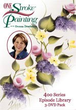 Donna Dewberry One Stroke Painting - 400 Series Library Set