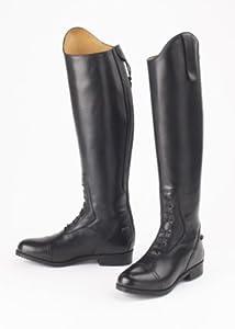 Ovation Ladies Flex Field Boot - Black 11 - Regular Tall