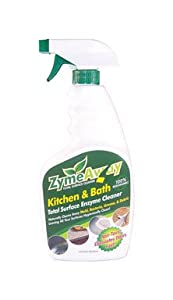 Zymeaway Kitchen And Bath Total Surface Enzyme Cleaner Organic Trigger Spray 32 Oz
