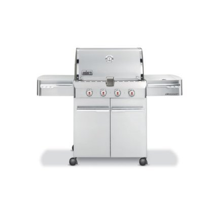 Weber Summit Grill S-420 NG Gas BBQ Stainless Steel