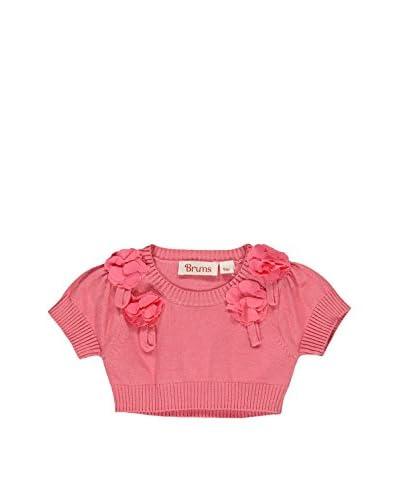 Brums Pullover Manica Corta E - Baby [Rosa]