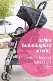 Urbini Humming Bird Stroller, World's Lightest Stroller PINK - 1