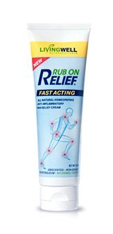 Rub-On-Relief--1-Clinically-Proven-Pain-Relieving-Ingredients--Fast-All-Natural-Pain-Relief-Cream-Anti-Inflammatory-3-oz--No-Harmful-Toxins--Longer-Lasting--Pleasant-Scent--100-Money-Back-Guarantee
