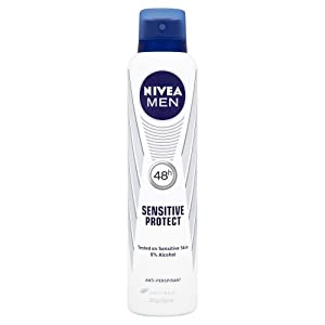 Nivea 250ml Male Sensitive Spray