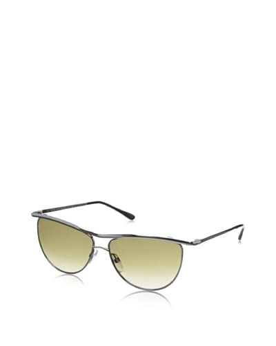 Tom Ford Women's Helene Sunglasses, Ruthenium/Green
