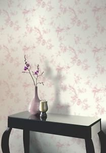 Opera Chinoise Wallpaper - Cream With Elegant Tra by New A-Brend