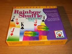 Rainbow Shuffle Playing Card Set