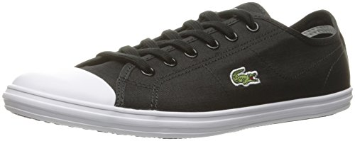 Lacoste Women's Ziane 316 2 Spw Blk Fashion Sneaker, Black, 8 M US