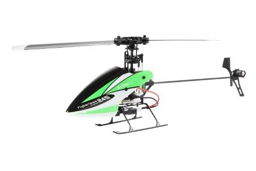 13001000 Ferngesteuerter RC Hubschrauber Flybarless 245 Trainer Single Blade - 4 Kanal ARTF grün weiß
