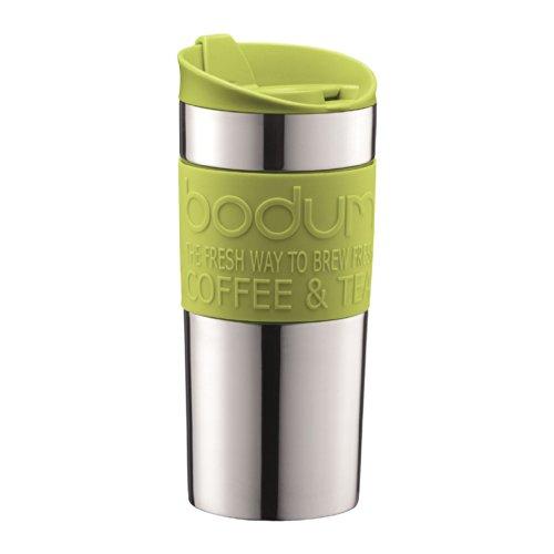 Bodum Stainless Steel Vacuum Travel Mug 0.35L / 12Oz Lime Green
