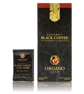 Organo Gold Gourmet Black (30 Sachets) - 4 Box Pack (4-Pack)