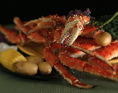 Giant Alaskan Red King Crab, 4 lb Box