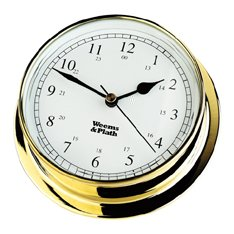 Weems & Plath Endurance Collection 085 Quartz Clock (Brass) by Weems & Plath