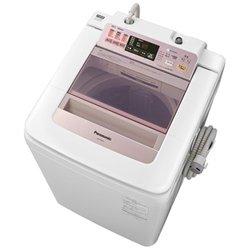 パナソニック 8.0kg 全自動洗濯機 ピンクPanasonic エコナビ 即効泡洗浄 NA-FA80H1-P