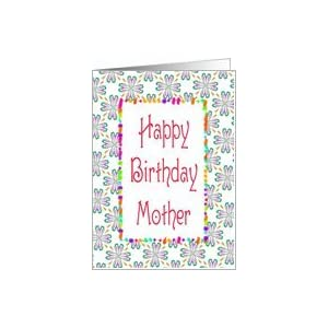 Amazon.com: Birthday-Mother-Graphic Design Card: Health
