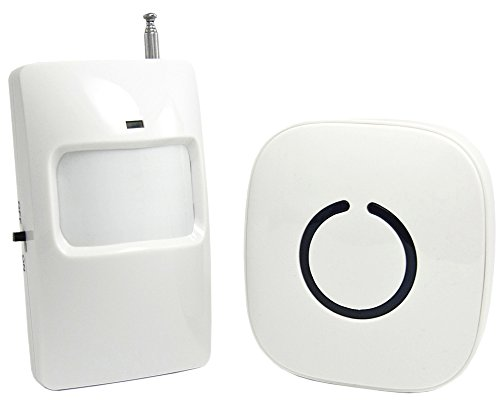 Purchase SadoTech Wireless PIR Motion Sensor Doorbell Operating at 500-feet Range with Over 50 Chime...