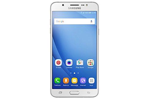 Samsung J710 Galaxy J7 Smartphone da 16GB, Bianco [Italia]