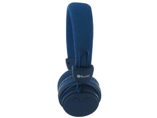 Casque BeeWi BBH120 Bleu - Bluetooth et filaire - Nomade