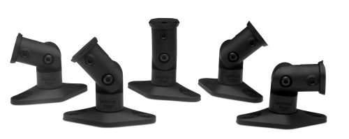 Vantage Point SATS05B Satellite Speaker Mounts for Home Theater Systems - Black 5-PackB0000DIX23