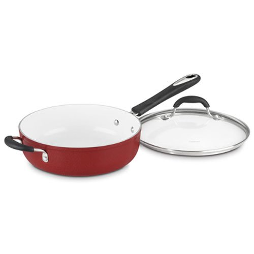 Cuisinart 5933-30HR Elements Saute, 5.5-Quart, Red