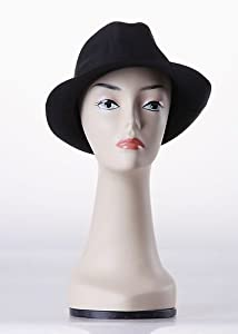 New Female Tall Realistic Fiberglass Mannequin Head Wig,Hat,Jewlery Display (H-19)