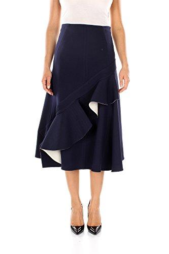 610222M750MRC01-Cline-Jupes-Femme-Laine-Bleu