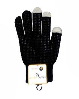 Marc Gold Mens Grabber Touch Screen Gloves (Black)