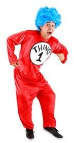 Dr. Seuss Thing 1 & 2 Adult Costume