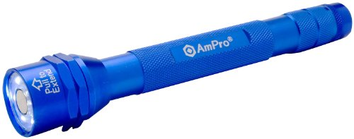 Ampro T19707 Blue Clamshell 6-Led Flashlight/Magnetic Pickup Tool