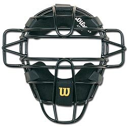 Wilson Dyna-Lite Umpires Face Mask A3080 9.5""