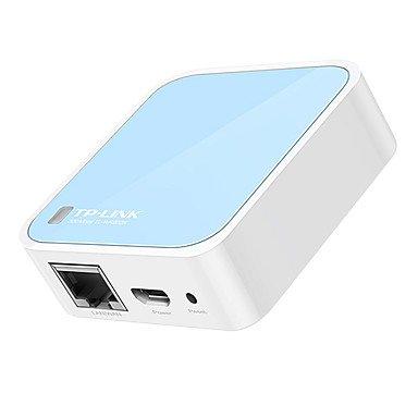 TP-LINK tl-wr802n 300m wifi fil portable amplification du signal mini-routeur sans fil , Blanc