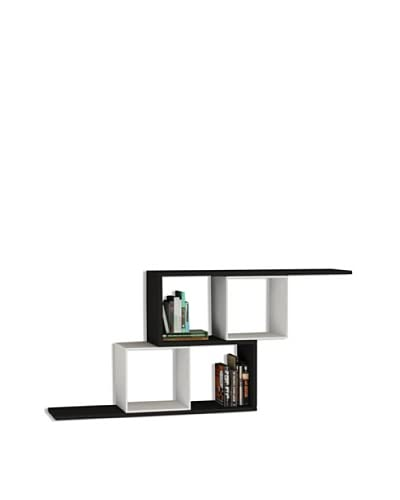 Decortie by Homemania Estante Zerre Negro / Blanco